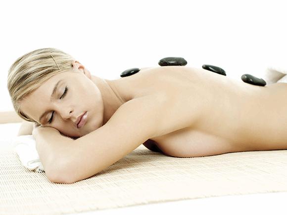Intense warmte massage die een weldaad is voor lichaam en geest.