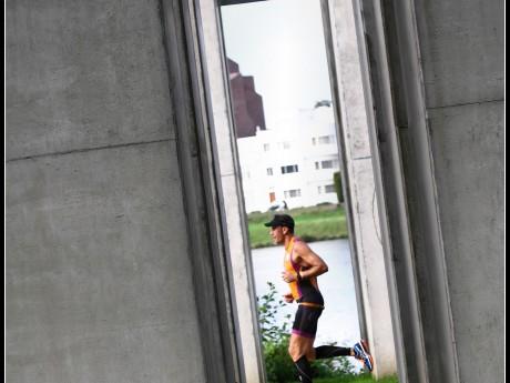 triathlon Maastricht 2014 hardloop onderdeel